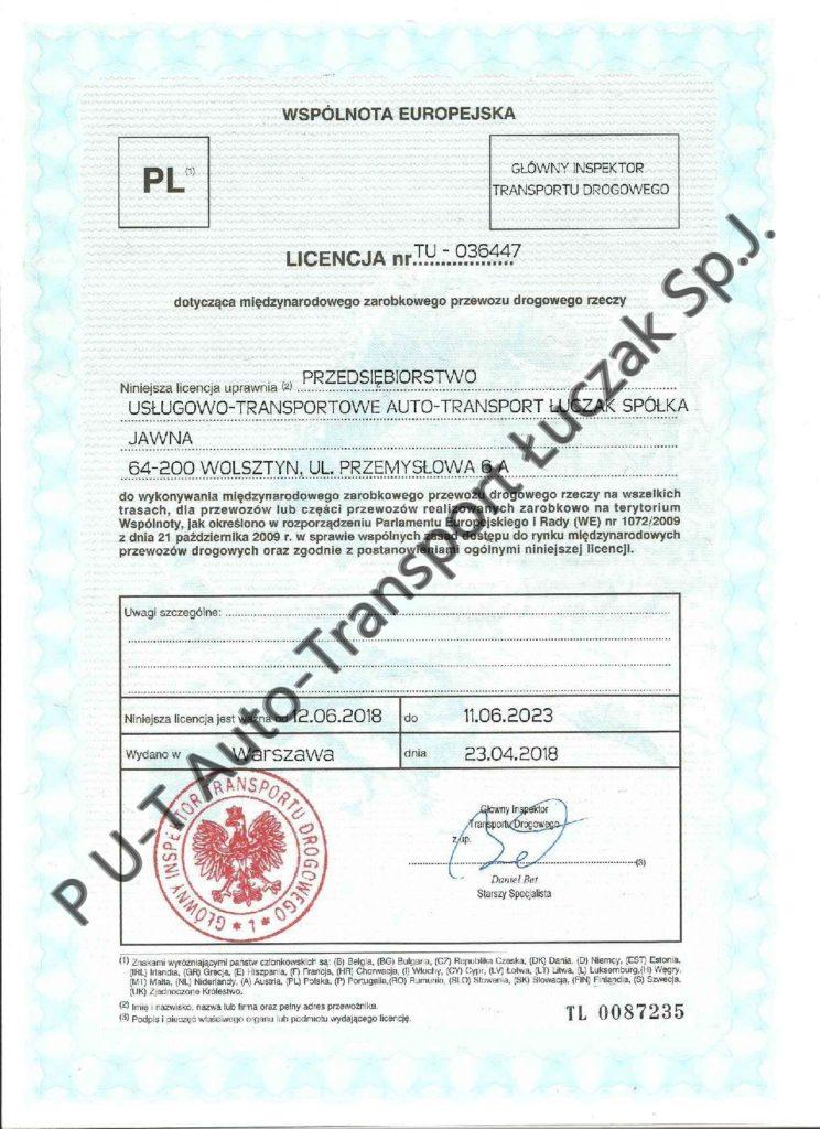 Lizenz Nr
